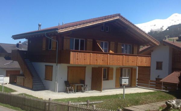 2½-Zimmer-Wohnung EG, Adelboden